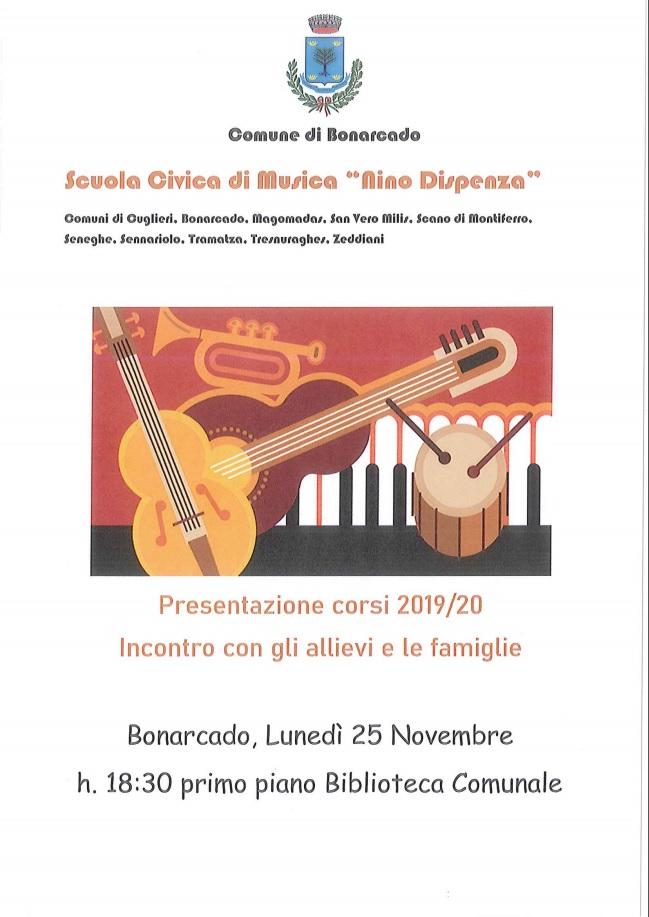 RIUNIONE SCUOLA CIVICA DI MUSICA